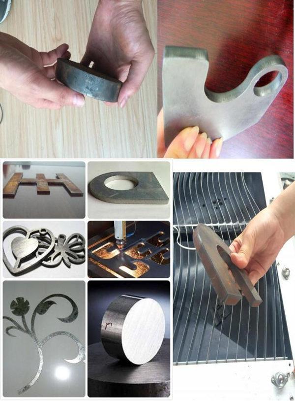 Bedste pris Rustfrit stål CNC Plasmaskæremaskine Kmp1325 Plasmaskærer