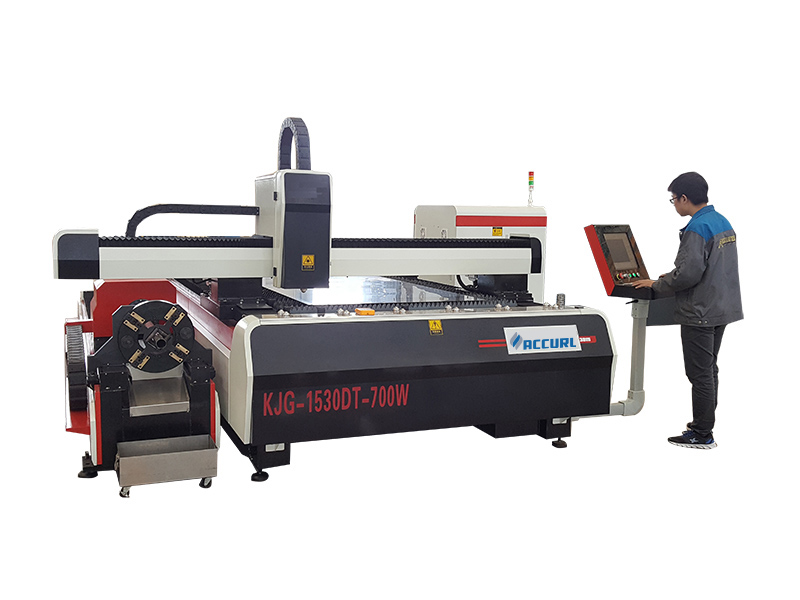 laser skære rør maskine