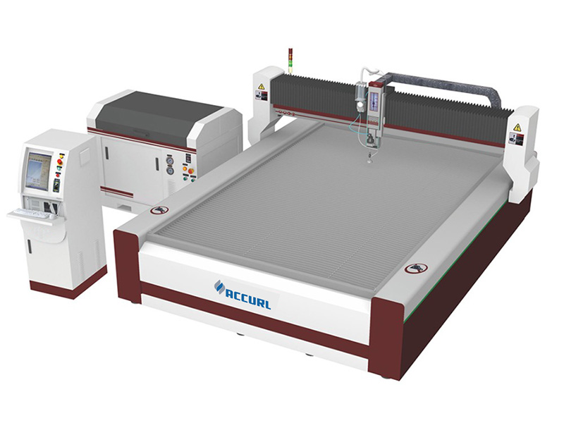 maskine til skæring af vandstråleskum